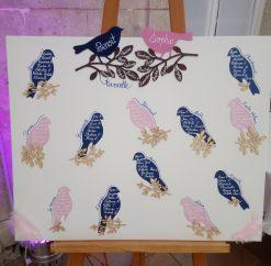 Mariage oiseaux roses et bleus – 06/10/2018