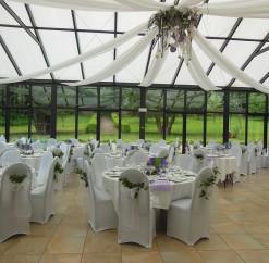Mariage du 10 mai 2014 – Parme et anis – Château de Naours